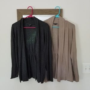 Two Express Open Cardigans